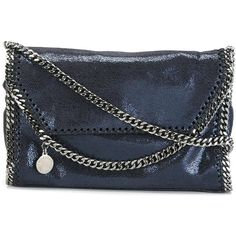 Authentic Stella McCartney faux-leather blues Crossbody Bag