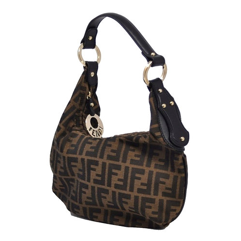Authentic Fendi Hobo Zucca Brown Bag