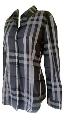 Authentic Burberry women's Checked Shirt ZS 40IT/8 UK