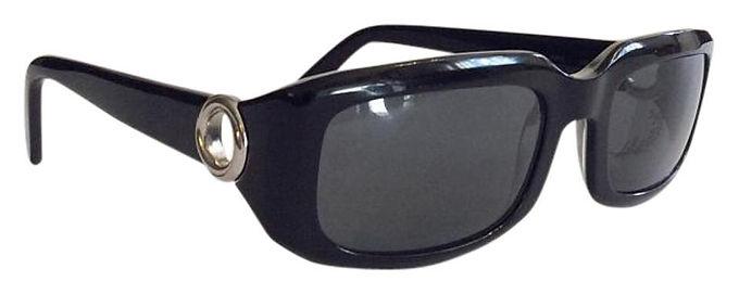 Authentic vintage Cartier Black 135 Sunglasses