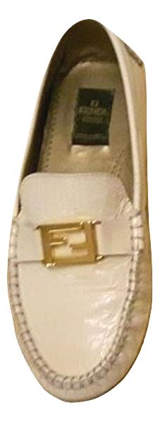 Authentic Fendi women loafer sz 37