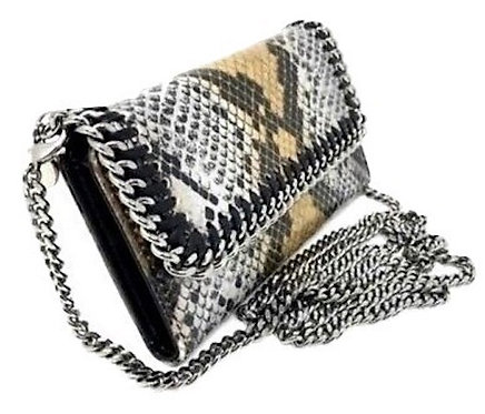 Authentic Stella McCartney Python Falabella iPhone 6/6+ chain Wallet  bag