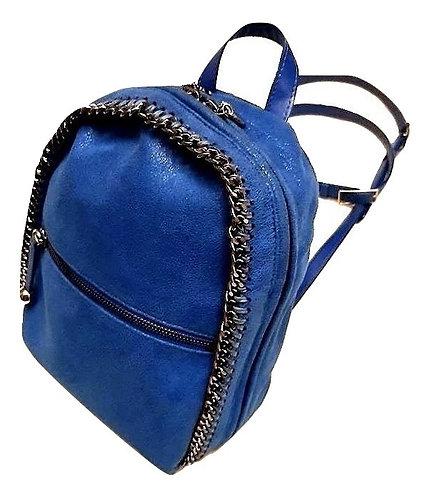Authentic stella mccartney Falabella Mini blue Shaggy Deer Backpack