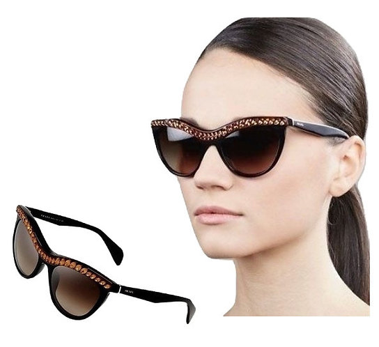 Authentic Prada Limited Edition Women's Black Sunglasses