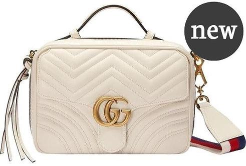 Authentic Gucci Marmont Matelassé Cross Body Bag