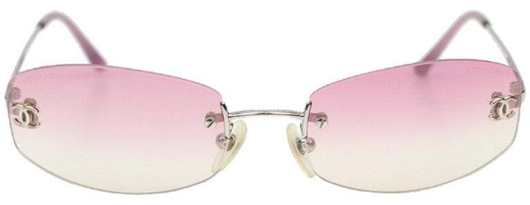 Authentic Chanel Pink CC 4017-D Sunglasses