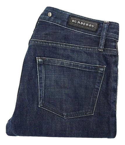 Authentic Burberry women's low waist jeans SZ 29L fit M