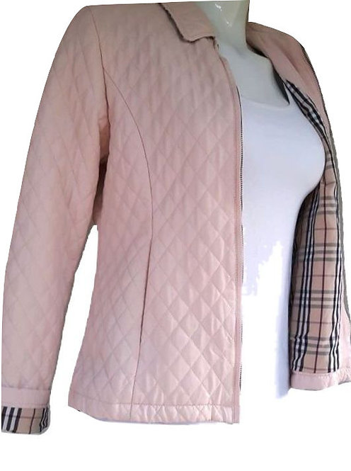 Authentic Burberry Quilted Jacket Women's Sz 12 junior
