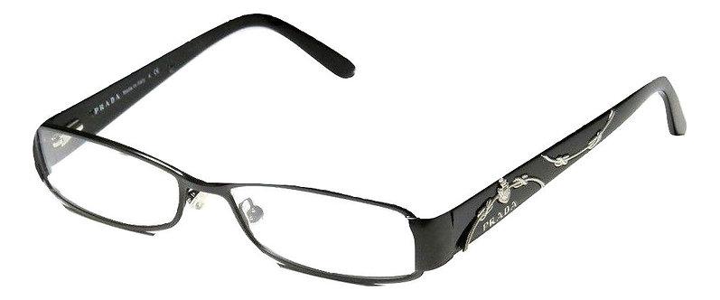 Authentic Prada VPR58L 48014 1BO-101 135 eyeglass