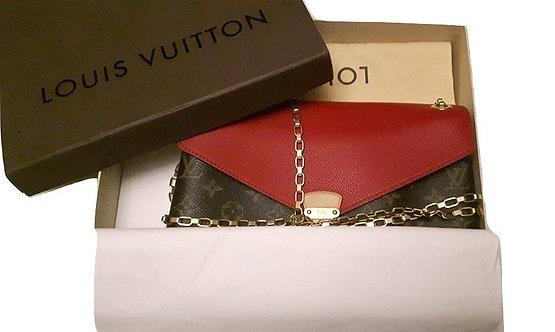 Authentic Louis Vuitton Pallas Chain Bag