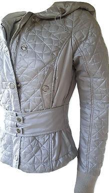Authentic Moschino grey women's jacket SZ42/M