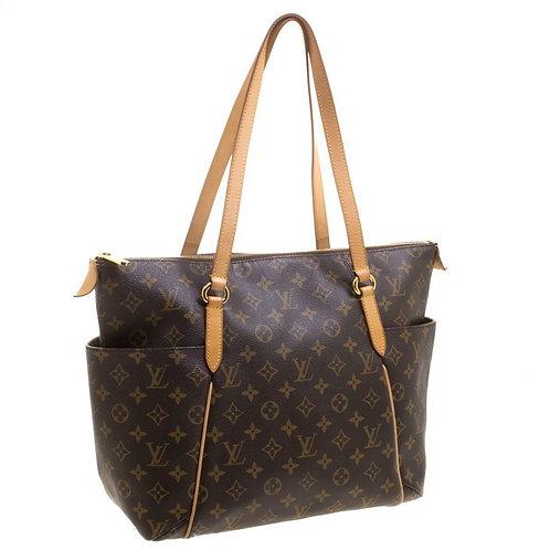 Authentic Louis Vuitton Monogram Canvas Canvas Totally MM Bag