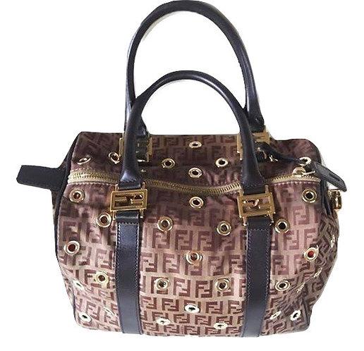 Authentic Fendi Boston limited edition bag