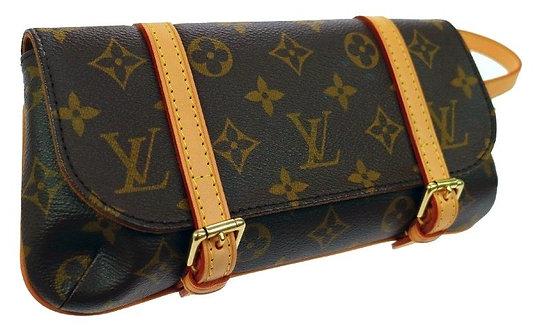 Authentic louis vuitton Pochette Marelle Waist Bag Monogram