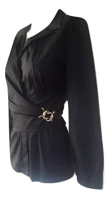 Authentic Gucci women black Bluse,SZ 44 IT/M