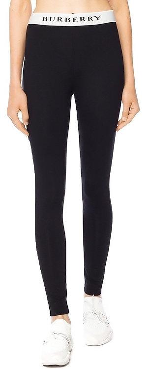 Authentic Burberry women's black leggings SZ/ S