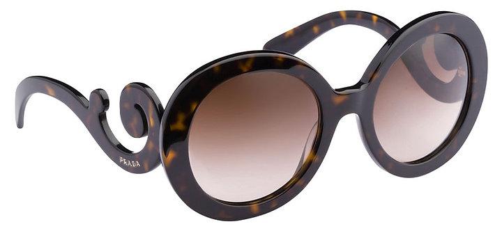 Authentic Prada Women's brown Sunglasses