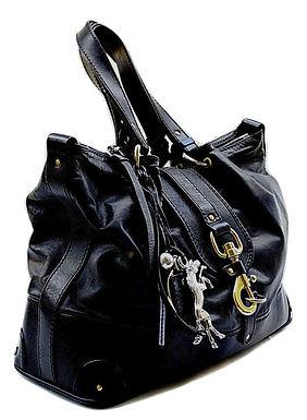 Authentic Chloe Kerala black leather bag