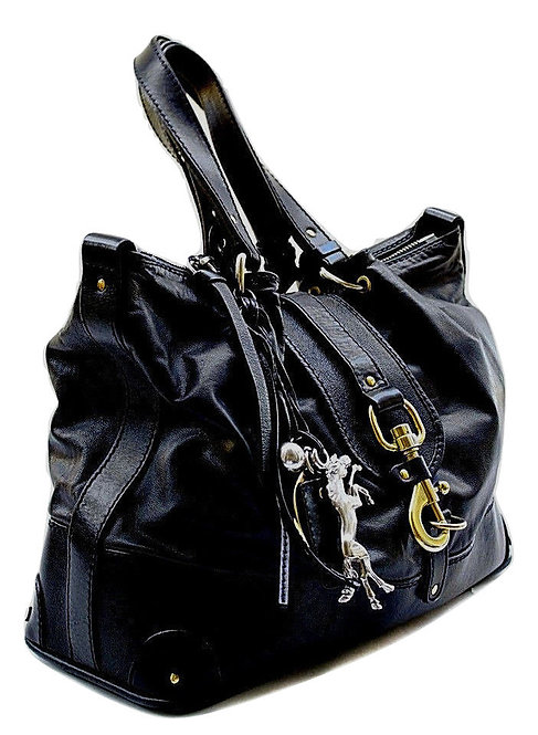Authentic Chloe Kerala black leather bag
