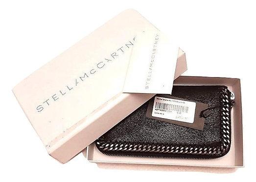 Authentic Stella Mccartney black Falabella Long Wallet