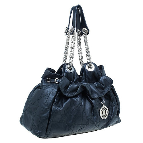 Authentic Christian Dior Le Trente Bag Cannage Quilt Leather retail price 1960$