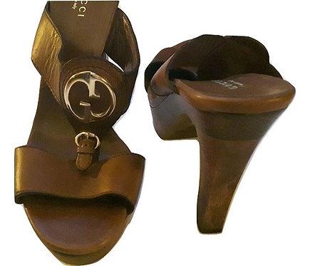 Authentic gucci women sandals size 39