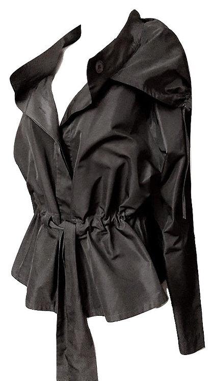Authentic Max Mara women's light weght black jacket SZ M