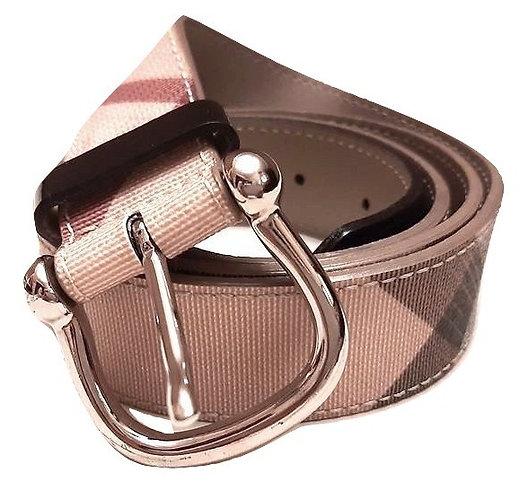 Authentic Burberry women's Nova-check Belt SZ 100/40