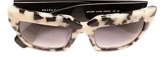 Authentic Prada Women's Sunglasses Havana