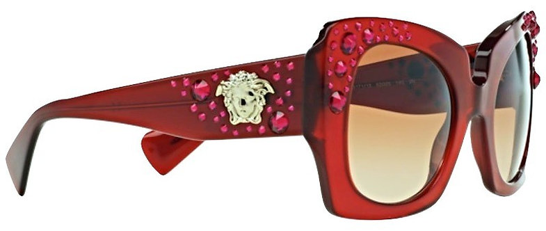 Authentic Versace Crystal Charm Sunglasses