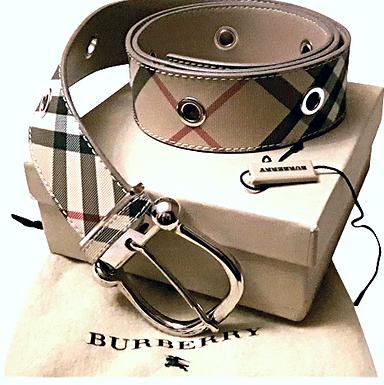 Authentic Burberry Novacheck Belt 100 CM