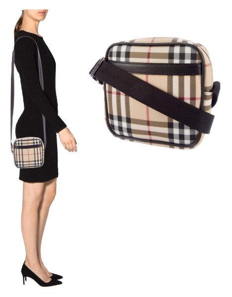 Authentic Burberry Nova Check Crossbody Bag