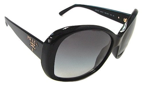 Authentic Prada Women's Sunglasses SPR 03M 1AB Black