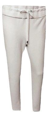 Authentic Burberry white Check  sweatpants. SZ/ M