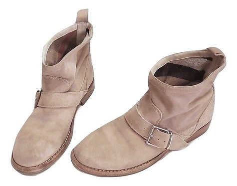 Authentic Burberry Ankle Suede beige Boots Sz 37