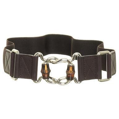 """Authentic Gucci womens elastic belt size 32""""/75cm fit until 90cm"""