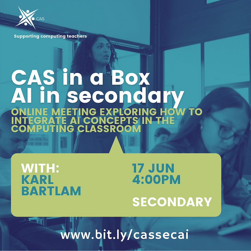 Artificial Intelligence in Secondary Computing