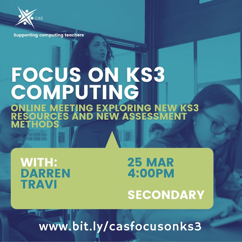 Focus on KS3 Computing - REMOTE