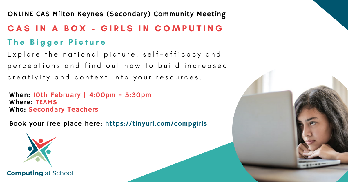 Girls in Computing - The Bigger Picture