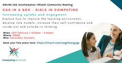 Girls in Computing - Increasing Uptake and Engagement