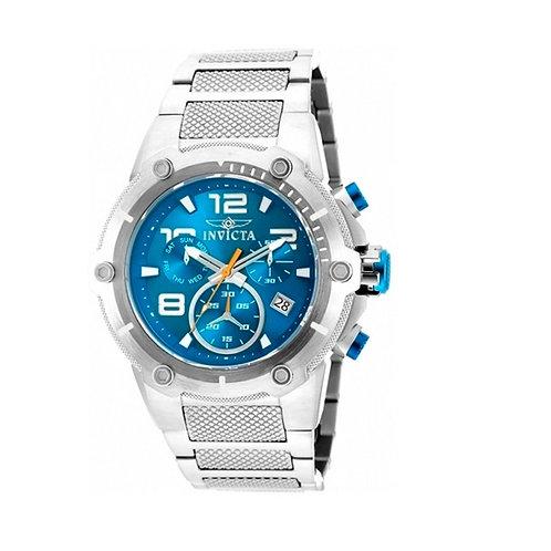 Relógio Invicta Speedway 19527 Prata Azul Masculino - (ÚLTIMAS UNIDADES)