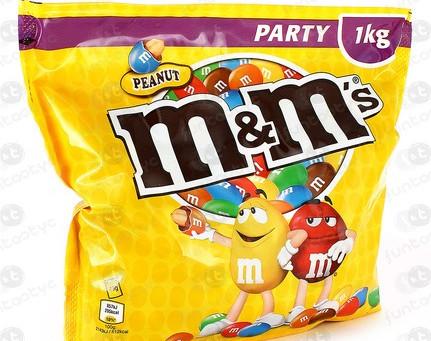 Vermelho e Amarelo tentam esconder o lançamento do novo M&M'S® Crispy