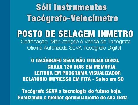 Posto de Selagem Tacógrafo Zona Leste, Manutenção Tacógrafos São Mateus, Veoímetros Zona Leste| Soli Tacógrafos