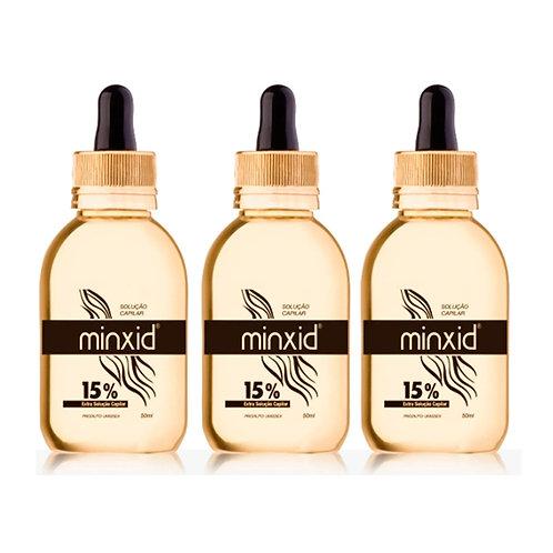 Minoxidil 15% Formula Exclusiva 50ml (150 Dias) Minxid - PROMOÇÃO!