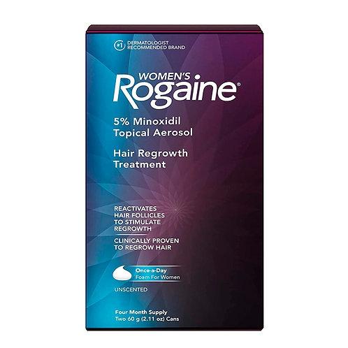 ROGAINE  - Minoxidil 5 % espuma de crescimento capilar para mulheres