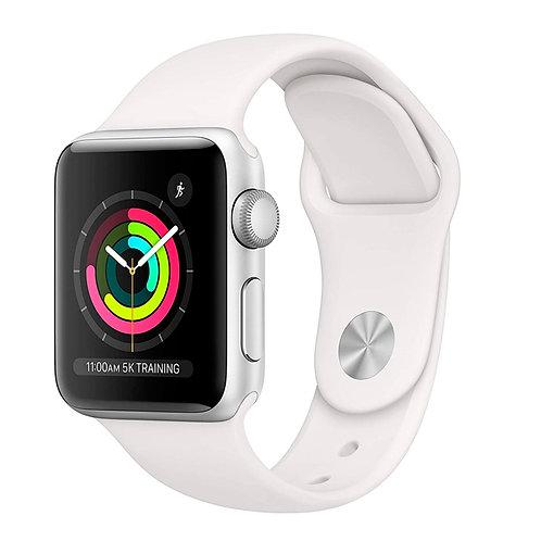 Apple Watch serie 3 38mm Silver (Branco) - ÚLTIMAS UNIDADES