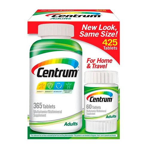CENTRUM Multivitamínico Adulto - 425 Tablets - PROMOÇÂO