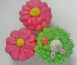 Bunny Bum Cupcakes