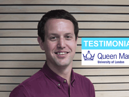 Testimonial from Queen Mary University of London