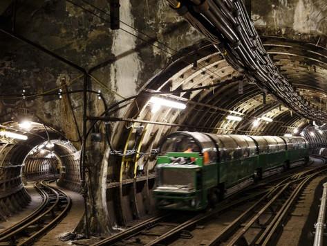 London's Hidden Underground Rail Mail Riding